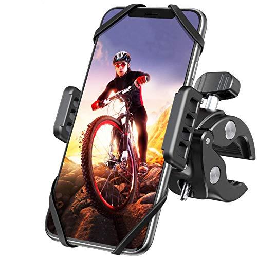 Fahrrad Handyhalterung, DesertWest Motorrad Fahrrad Handy Halterung mit 360° Drehung für iPhone 12/12Pro/SE 2020/Samsung S20/S10/Note10/HUAWEI Xiaomi LG usw. Handyhalter für Rennrad Mountainbike