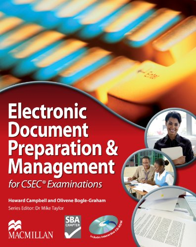 Compare Textbook Prices for Electronic Document Preparation & Management for CSEC Examinations  ISBN 9780230429123 by Howard Campbell,Olivene Bogle-Graham