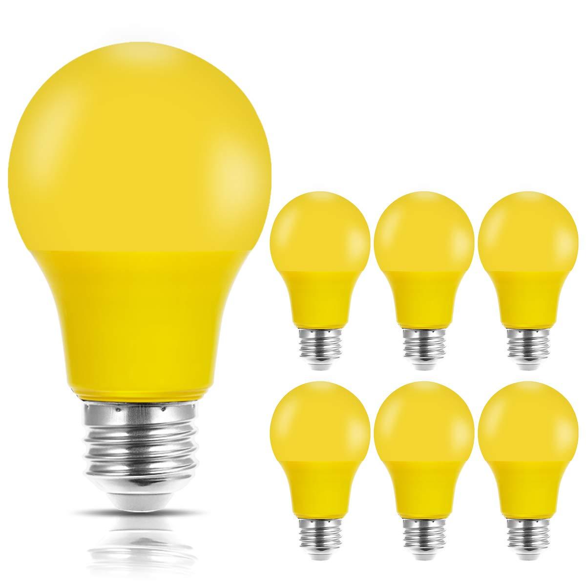 JandCase Yellow Bulbs Equivalent Medium