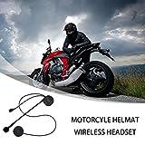 Dkings Motorcycle Helmet Bluetooth Headset, Motorcycle Intercom Headset,Wireless Helmet Communication Systems...