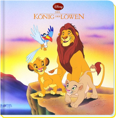 Disney König der Löwen, Großes Vorlese-Pappbuch