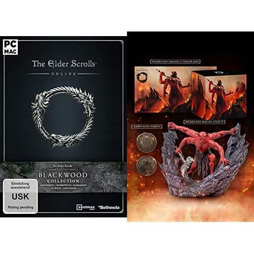 The Elder Scrolls Online Collection: Blackwood [PC] + TESO Mehrunes Dagon   Premium Bundle