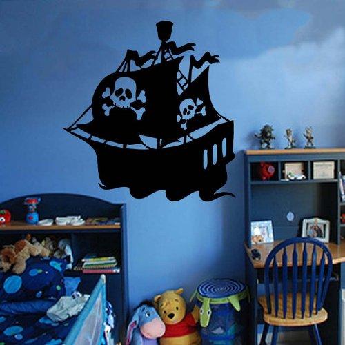 zqyjhkou Vinyl Detachable Wall Sticker, Boy Room Home Living Room Decorating Art 42x44cm