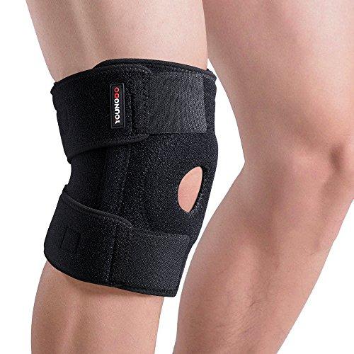 Youngdo Rodillera Deportiva Articulada Ajustable para Rótula y Menisco Protección de Rodilla para Correr Crossfit Caminar Gimnasio y otras Actividades al Aire Libre