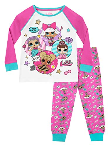 Lol Surprise Pijama niñas Dolls Multicolor 6-7 Años