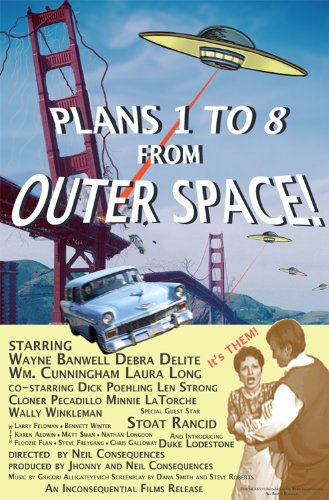 Plans 1 to 8 From Outer Space