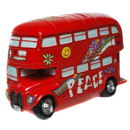Spardose Doppeldecker-Bus