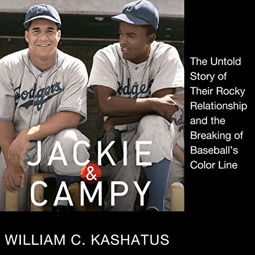 Jackie and Campy audiobook cover art