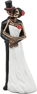 Ebros Love Never Dies Eternal Wedding Skeleton Statue Wedding Pose Couple Figurine Dias De Los Muertos Day Of The Dead Decor Sculpture