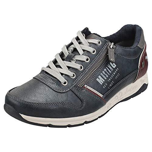 MUSTANG Herren 4106-306-820 Sneaker, Blau (Navy 820), 41 EU