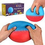 Special Supplies Stress Balls Kids and Adults, Jumbo Size 2 Pack, Colorful and Squishy Sensory Toys with Soft, Squeezable Fill, Low Dexterity and Anxiety Therapy