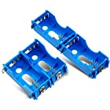 4 Pieces D-Cell Battery Holder Series or Parallel Physical Science Plastic D Size Battery Case Physics D Battery Holder