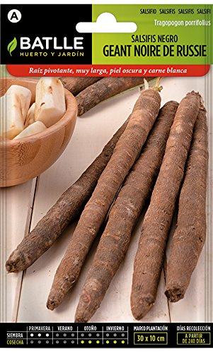 Semillas hortícolas de Batlle - Salsifis Negro Geant noire de Russie (6g)