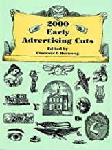 2000 Early Advertising Cuts (Dover Pictorial Archive Series)