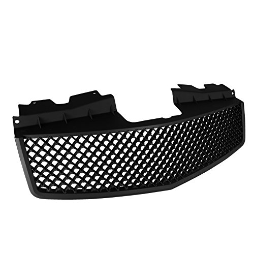 Spec-D Tuning HG-CTS03BB-V2-RS Cadillac Cts V Front Hood Grill Grille Matte Black