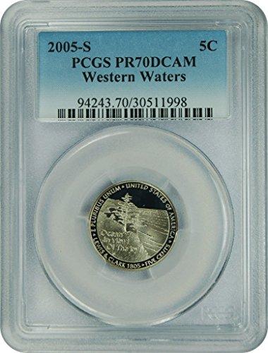 2005 S Jefferson Nickel Dime PR70DCAM PCGS