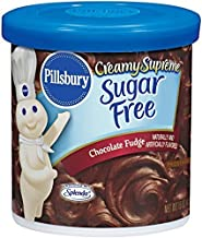 Pillsbury Creamy Supreme Sugar Free Chocolate Fudge Frosting 15 Oz by Pillsbury