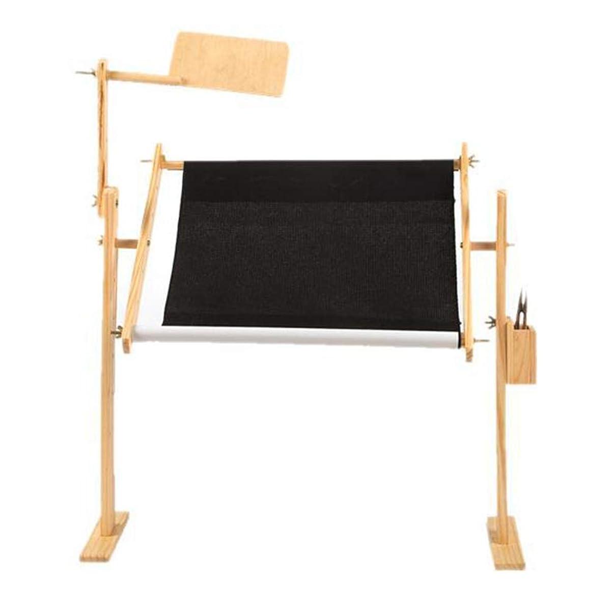 フラグラントロビーエンディングホルダー手作りツール床ハンズフリー調節可能な卓上ホーム刺繍 crossstitch スタンド針仕事クラフト固体木製