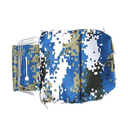 Gaoominy Segeltuch Hauben Abdeckung Stoff für WPL B16 C24 C14 B24 RC Fahrzeug LKW, Blau