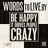 2021 Words to Live By 16-Month Wall Calendar