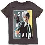 Pulp Fiction Say What Again Adult T-Shirt - Black (X-Large)