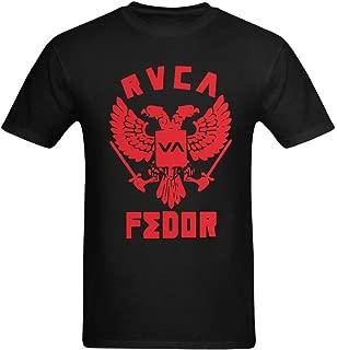 Zudes Jum Men's Fedor Emelianenko MMA RVCA T-Shirt US Size XL