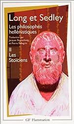 Les philosophes hellénistiques, tome 2 - Les Stoïciens d'Anthony Arthur Long