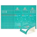Stingmon 10×3 Piezas de Trampas para Cucarachas Trampas para Insectos Fuertes y Pegajosas, Seguras para Niños y Mascotas