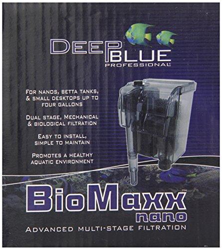 Deep Blue Professional ADB88700 Biomaxx Nano Filter for Aquarium