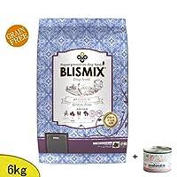 ブリスミックス(BLISMIX) (ドッグ) pH コントロール・グレインフリーチキン 6kg(小粒) (成犬・シニア犬用) 「プレゼント付=ジーランディア サーモン缶」