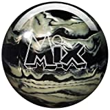 Storm Mix Urethane Bowling Ball, Black/White, 13 lb