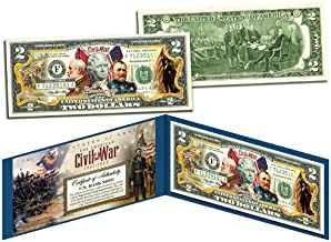 The American CIVIL WAR * 150th Anniversary * OFFICIAL Legal Tender $2 U.S. Bill
