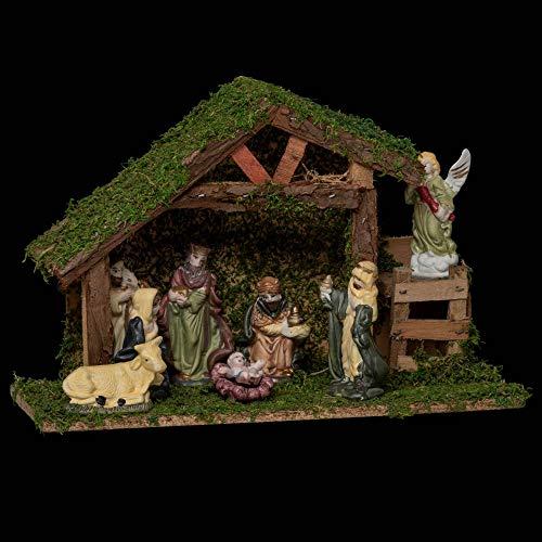 Crèche de Noël complète Saint-Isidor