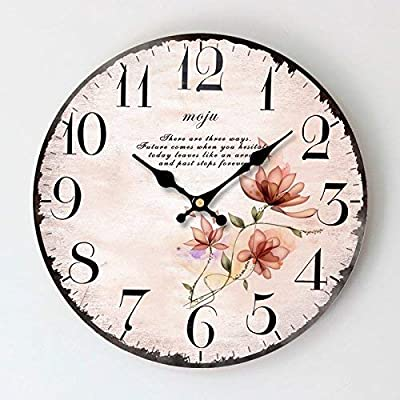 Xixuan Personalized Home Garden Clock Antique is a Family Restaurant Kitchens Office Schools are Ideal for