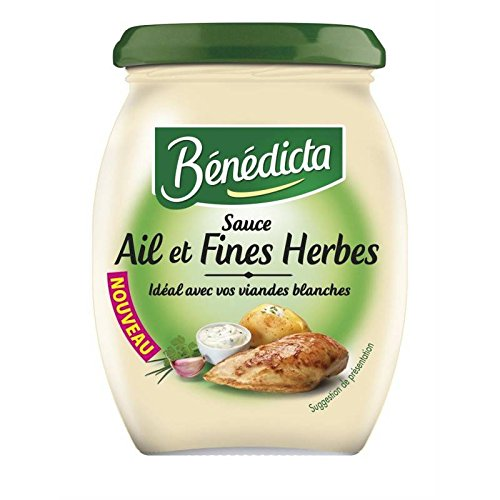 benedicta sauce knoblauch-kräuter-glas 260g - preis pro einheit