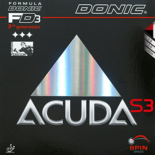 DONIC Belag Acuda S3 Optionen 2,3 mm, rot
