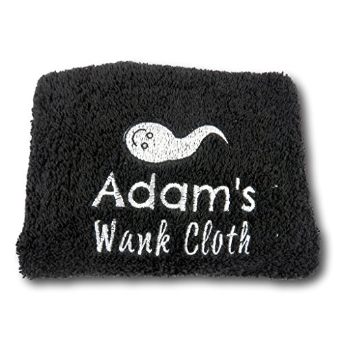 Wank Cloth Wank Wipe Embroidered Flannel Gift for Men Funny Gift Cum Cloth Valentine Gift Birthday Present Sex Towel