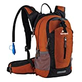 Insulated Hydration Backpack Pack with 2.5L BPA Free Bladder - Keeps Liquid Cool
