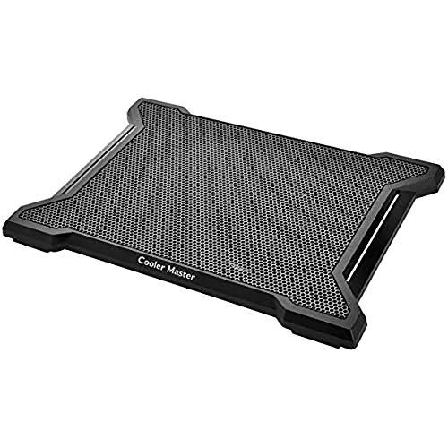 Cooler Master NotePal X-SLIM II Notebook-Kühler 'Leiser 200mm Lüfter, Egonomic Design, Kompatibel mit bis zu 15.6 Zoll Laptops' R9-NBC-XS2K-GP
