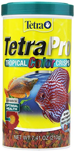 Tetra 77080 Pro Tropical Color Crisps, Fish Food With Natural Color Enhancers,7.42-Ounce (210 g)