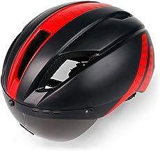 <h2>WPCBAA Fahrradhelm Wind- und staubdicht Einteilige Unisex-Fahrradausrüstung mit Brille Rennrad Mountainbike 56-61 cm</h2>