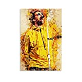 TOUKUI Liam Gallagher Wall Art Leinwand Kunst Poster & Wandkunst Bilddruck Moderne Familienzimmer Dekor Poster 16x24inch(40x60cm)
