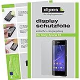dipos I 2X Schutzfolie matt kompatibel mit Sony Xperia E3 Folie Bildschirmschutzfolie