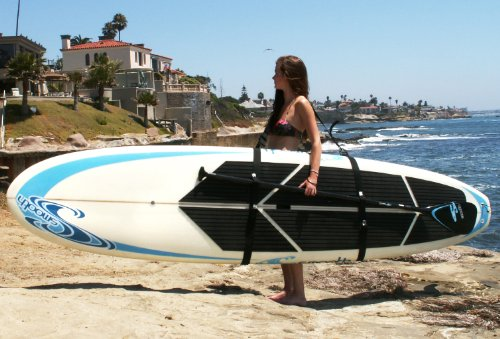 Better Surf...than Sorry Big Board Schlepper Stand Up Paddleboard Easy Carry...