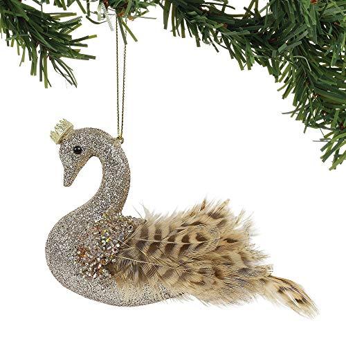 Enesco Gold Swan Ornament