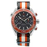 Omega Planet Ocean Steel Ceramic Grey Dial NATO Band Watch 215.32.46.51.99.001