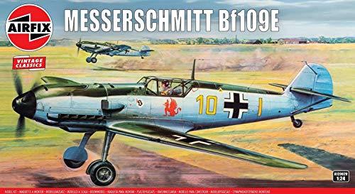 エアフィックス 1/24 ドイツ空軍 メッサーシュミットBf109E プラモデル X-12002V