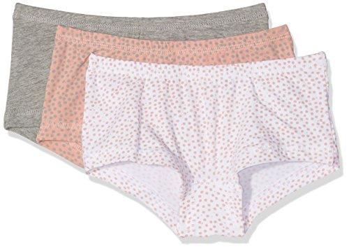 NAME IT Mädchen NKFTIGHTS 3P NOOS Unterhose, Rosa (Rose Tan), 140 (3er Pack)