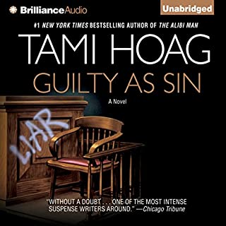 Guilty as Sin                   Written by:                                                                                                                                 Tami Hoag                               Narrated by:                                                                                                                                 Jennifer Van Dyck                      Length: 18 hrs and 31 mins     3 ratings     Overall 5.0