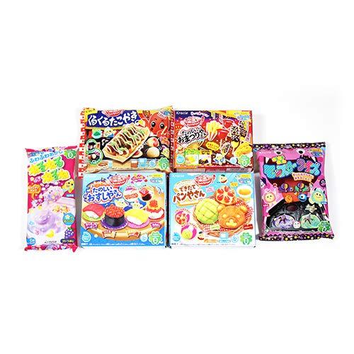 【2020年版】クラシエフーズ 豊かな創造力を育む知育菓子6種セット D